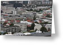 View Of Reykjavik Iceland Greeting Card