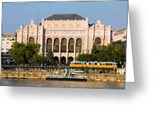 Vigado Concert Hall In Budapest Greeting Card