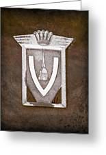 Vignale Emblem Greeting Card