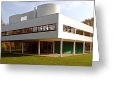 Villa Savoye - Le Corbusier Greeting Card
