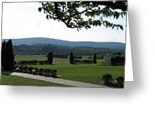 Vineyards In Va - 12123 Greeting Card