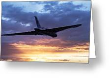 Vulcan Sunset Greeting Card