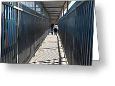 Walking Together Greeting Card