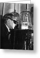 Walter Brattain, Us Physicist Greeting Card