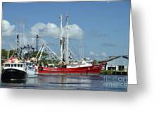 Wanchese Harbor Greeting Card