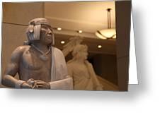 Washington Dc - Us Capitol - 01132 Greeting Card