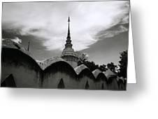 Wat Suan Dok Greeting Card