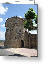 Watch Tower In Cluny Greeting Card