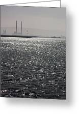 Water And Haze Greeting Card