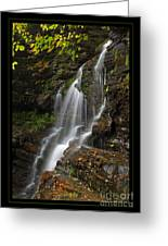 Water On The Mountain Greeting Card