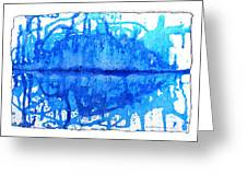 Water Variations 14 Greeting Card