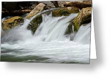 Waterfall - Zion National Park Greeting Card