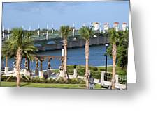 Waterfront Park St Augustine Florida Greeting Card