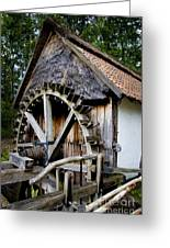 Watermill Greeting Card