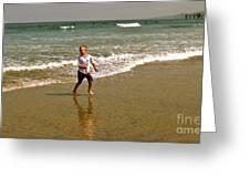 Wave Runner Greeting Card