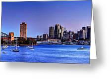 Waverton Sydney Greeting Card
