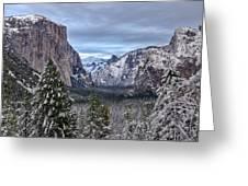Welcome To Yosemite Greeting Card