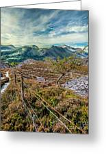 Welsh Mountains Greeting Card