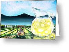 When Life Gives You Lemons Greeting Card by Shana Rowe Jackson