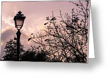When The Lights Are Down Greeting Card