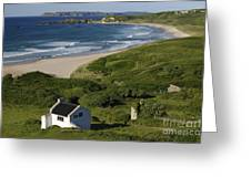 White Park Bay, Ireland Greeting Card