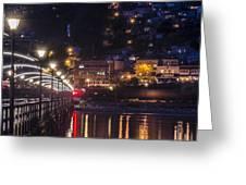 White Rock Pier Greeting Card