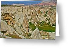 Who Lives Here In Cappadocia-turkey  Greeting Card