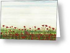 Wild Poppies Corbridge Greeting Card