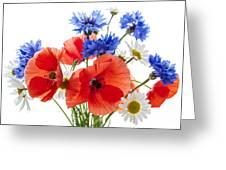 Wildflower Bouquet Greeting Card