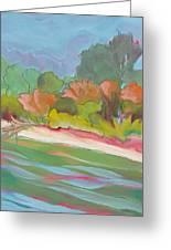 Willamette River 31 Greeting Card