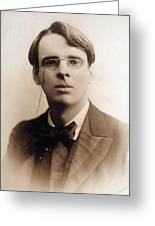 William Butler Yeats (1865-1939) Greeting Card