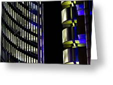 Willis Group And Lloyd's Of London Abstract Greeting Card