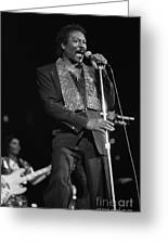 Wilson Pickett Greeting Card