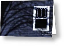 Window And Shadows Greeting Card