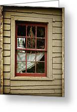 Window - Glimpse Into The Past Greeting Card