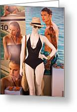Window Mannequin 8 Greeting Card