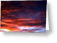 Windows Of Heaven Greeting Card