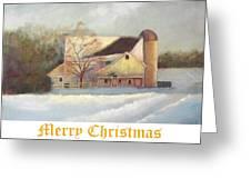 Winter Hush Holiday Card1 Greeting Card