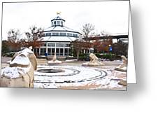 Winter In Coolidge Park Greeting Card