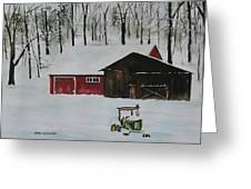 Winter Solitude Greeting Card