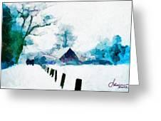 Winter Tales Tnm Greeting Card
