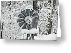 Winter Wind  Greeting Card