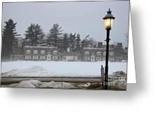 Winters Light Greeting Card