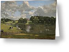 Wivenhoe Park  Essex Greeting Card