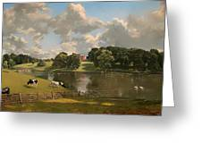 Wivenhoe Park Greeting Card