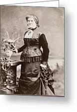 Women's Fashion, 1880s Greeting Card