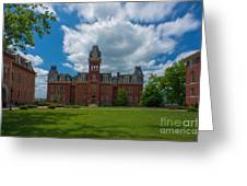Woodburn Hall Summer Paintography Greeting Card by Dan Friend