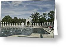 World War 2 Memorial Greeting Card