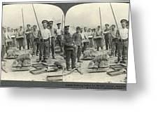 World War I Bakers Greeting Card