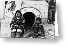 World's Fair Eskimos Greeting Card
